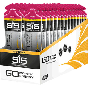 SiS GO Isotonic Energy Gel Caja 30x60ml, Cherry